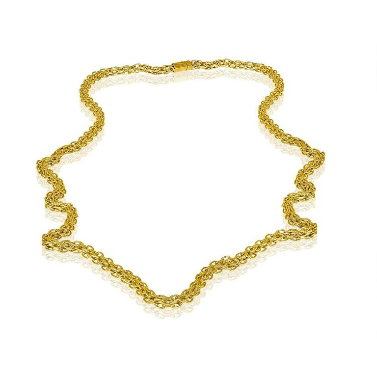 352580a3c4378 Vintage 1960's Tiffany & Co. Chain Link Heavy Chain. The chain has Tiffany &
