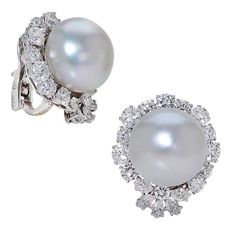 These Timeless And Elegant Earrings Designed By Van Cleef Arpels