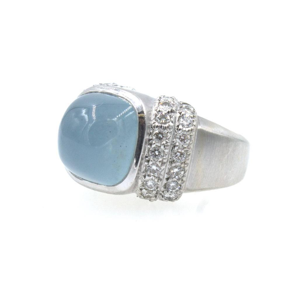 marlene stowe modern moonstone white gold ring for