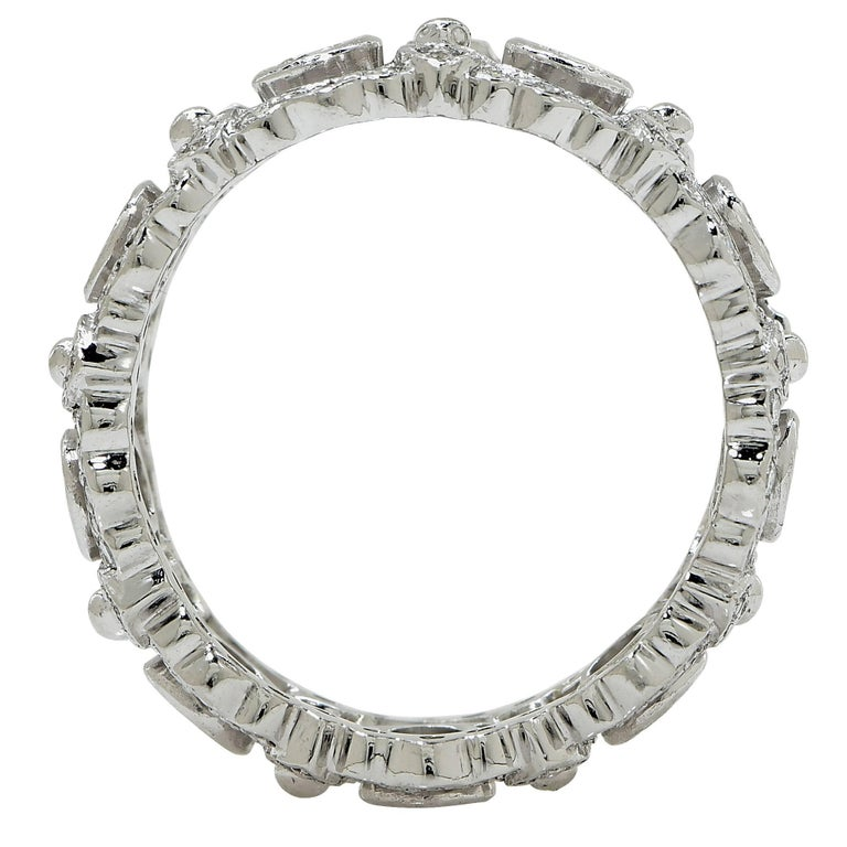 Platinum Diamond Eternity Band Ring 3