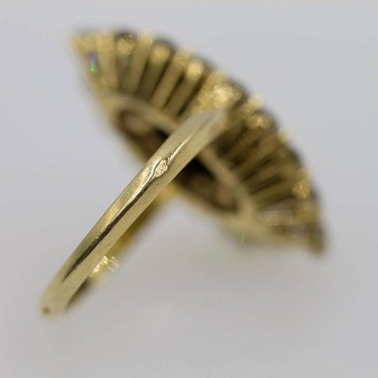 Van Cleef & Arpels Diamond Onyx Vintage Ring For Sale 1