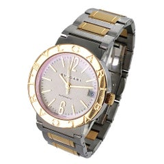 Bvlgari BB 33 SG 18 Karat Yellow Gold Stainless Steel Watch