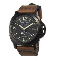 Panerai Stainless Steel PAM 0028 PVD Luminor Power Reserve Automatic Wristwatch