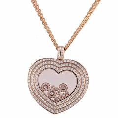 Chopard Happy Diamonds Rose Gold Pendant