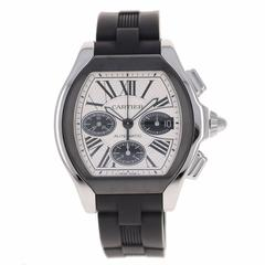 Cartier Roadster S Chronograph Stainless Steel Wristwatch