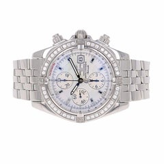Breitling Stainless Steel Windrider Chronomat Evolution Automatic Wristwatch