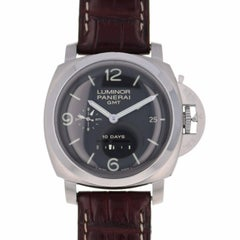 Panerai Stainless Steel Luminor 10 Day GMT Automatic Wristwatch, 1950