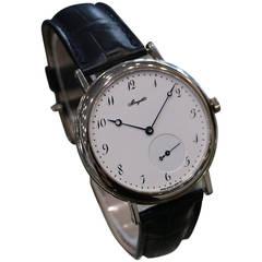 Breguet White Gold Classique Automatic Wristwatch