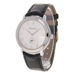 Audemars Piguet Jules Audemars Men's White Gold Small Seconds Manual Wristwatch