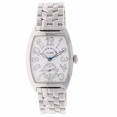 Franck Muller Ladies Stainless Steel Cintree Curvex Casablanca Manual Wristwatch