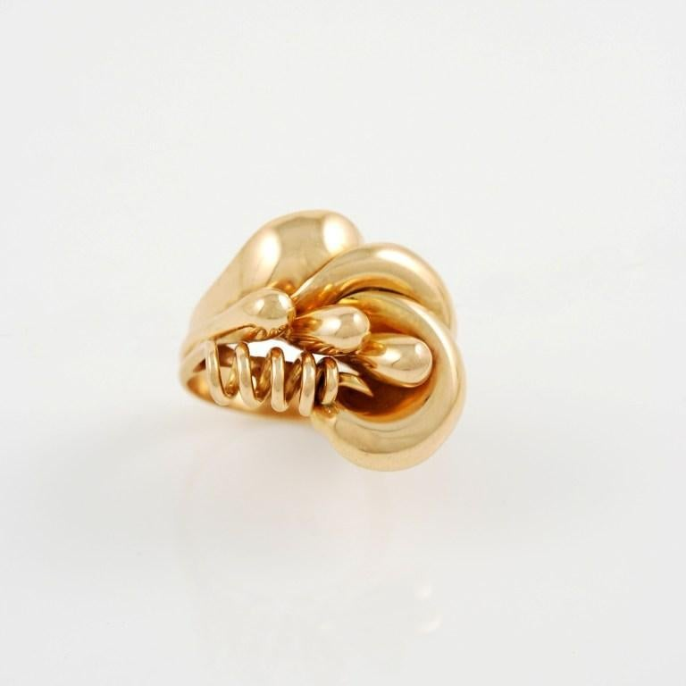 art deco rose gold ring for sale at 1stdibs. Black Bedroom Furniture Sets. Home Design Ideas