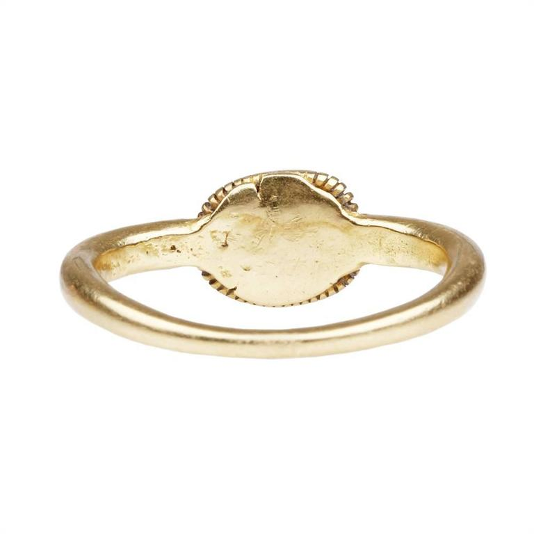 Ancient Star Sapphire Gold Ring 3