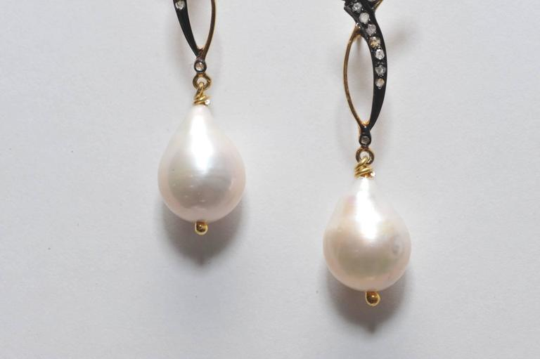 Pearshaped Baroque Pearl Diamond Earrings At 1stdibs. Antique Silver Necklace. Brushed Platinum. Rose Gold Infinity Band. Chunky Engagement Rings. Single Diamond Necklace. Antique Gold Chains. Tribal Wedding Rings. Genuine Opal Bracelet