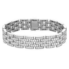 """Cartier Diamond Gold """"Maillon Panthère"""" Bracelet"""