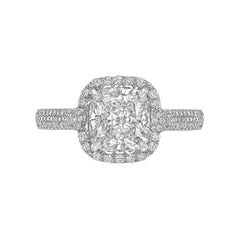Betteridge 2.09 Carat Cushion-Cut Diamond Engagement Ring