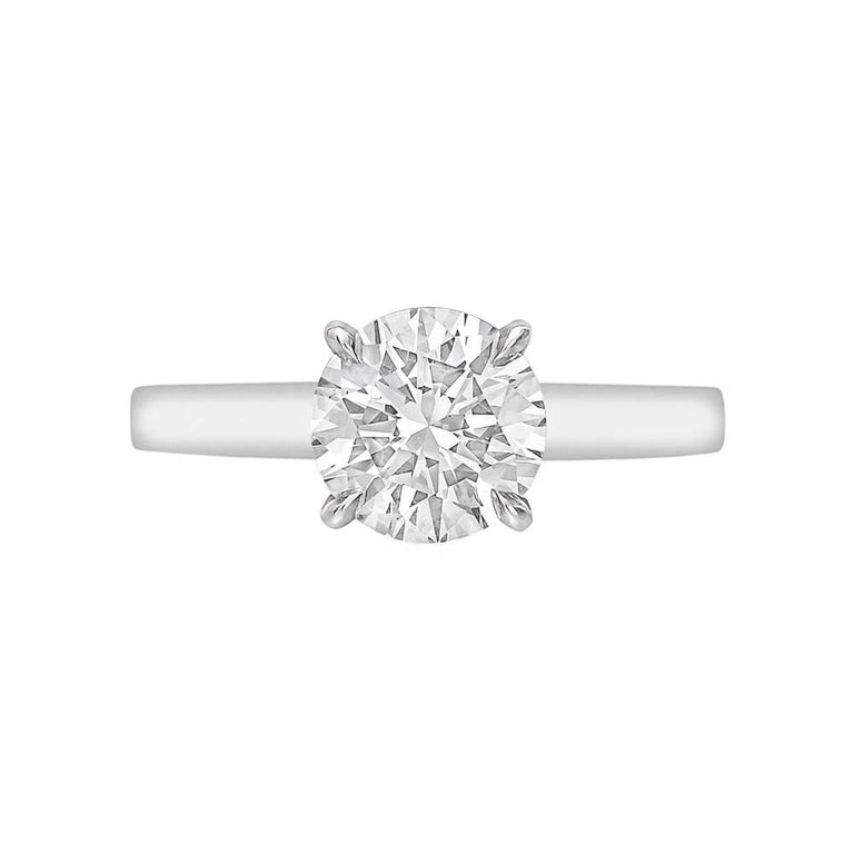 Betteridge 1.50 Carat Round Brilliant Diamond Engagement Ring