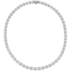 Martin Katz Diamond Riviere Necklace