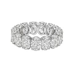 "Oval Brilliant-Cut Diamond ""Capella"" Eternity Band"