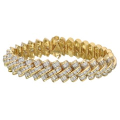 Krypell Yellow Gold Diamond Bracelet