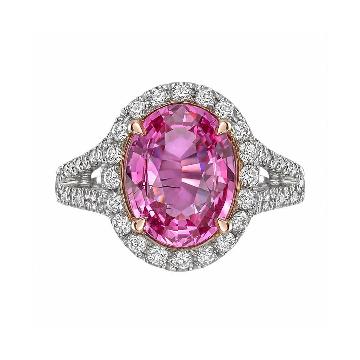 Raymond C. Yard 10.81 Carat Sapphire Diamond Ring at 1stdibs