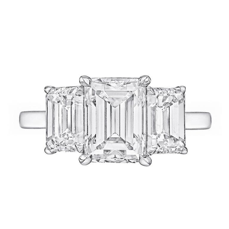 01 Carat Emerald-Cut Diamond Engagement RingEmerald Cut Diamond 2 Carat