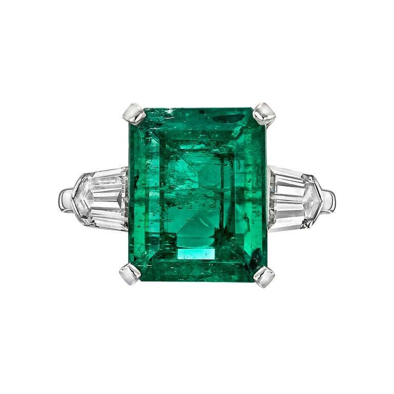 5 00 carat emerald and ring at 1stdibs