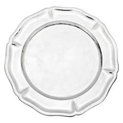 Set of 11 Sterling Silver Charger Plates