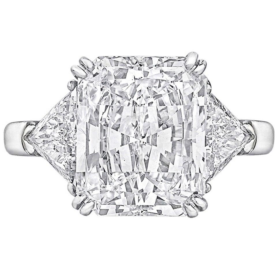 Graff 502 Carat Gia Cert Radiantcut Diamond Engagement Ring 1