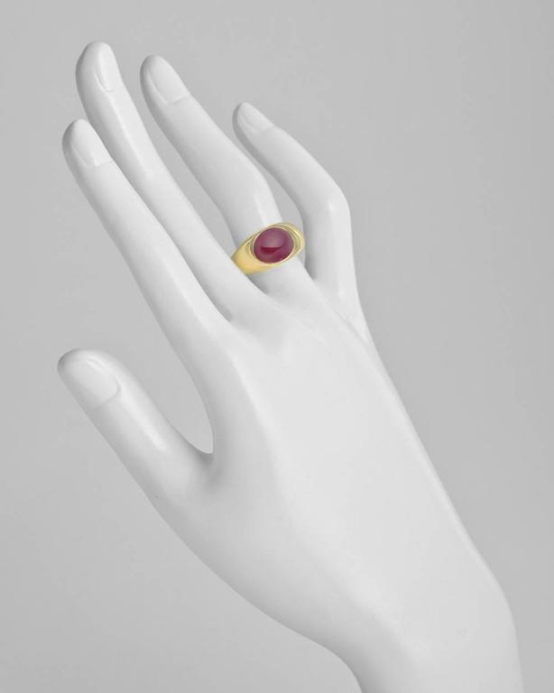 Bulgari Ruby Gold Gypsy Ring 1