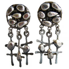 Rachel Gera Sterling Silver Earrings