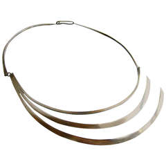 Betty Cooke Sterling Silver Necklace