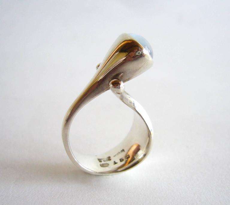 vivianna torun for georg jensen moonstone sterling ring 3