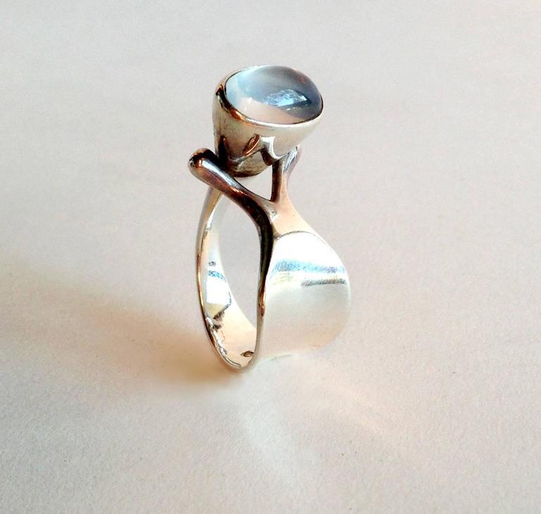 vivianna torun for georg jensen moonstone sterling ring 2