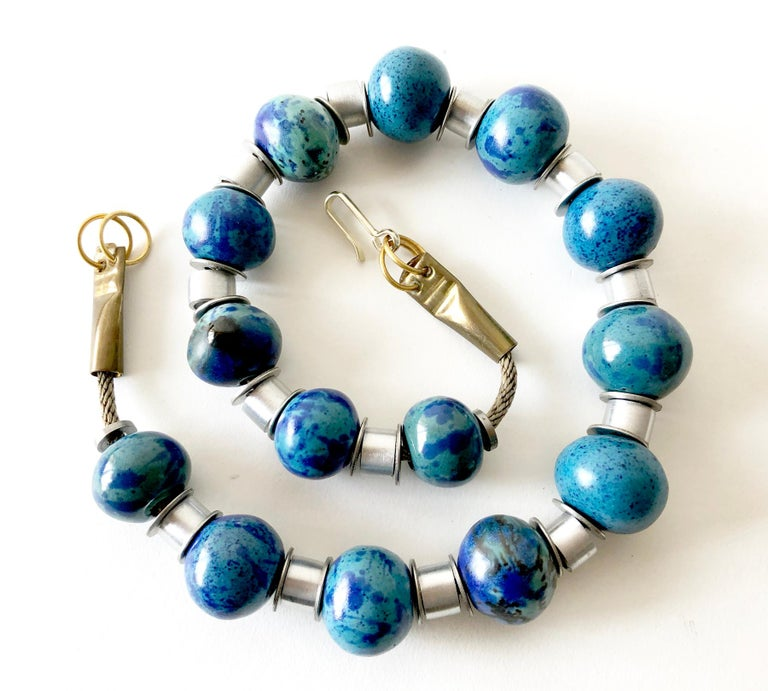 Handmade necklace of fourteen 1