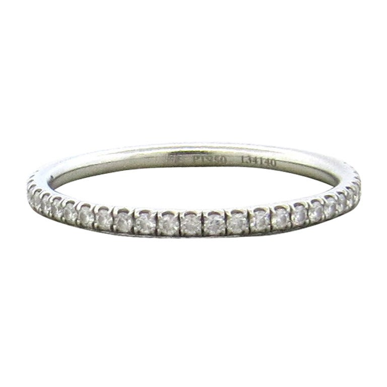 harry winston platinum eternity wedding band ring