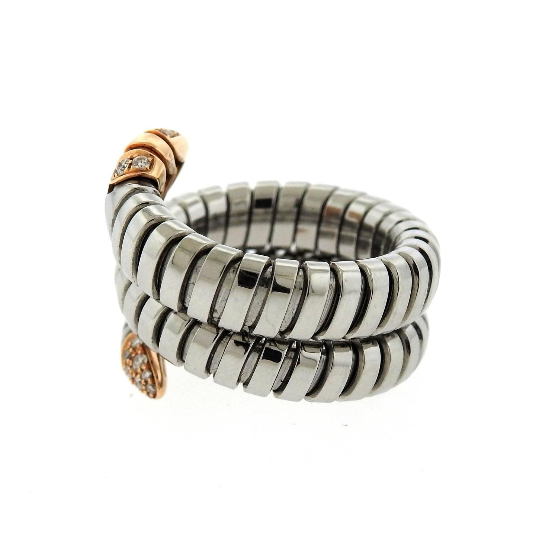 Wrap Around Serpant Ring