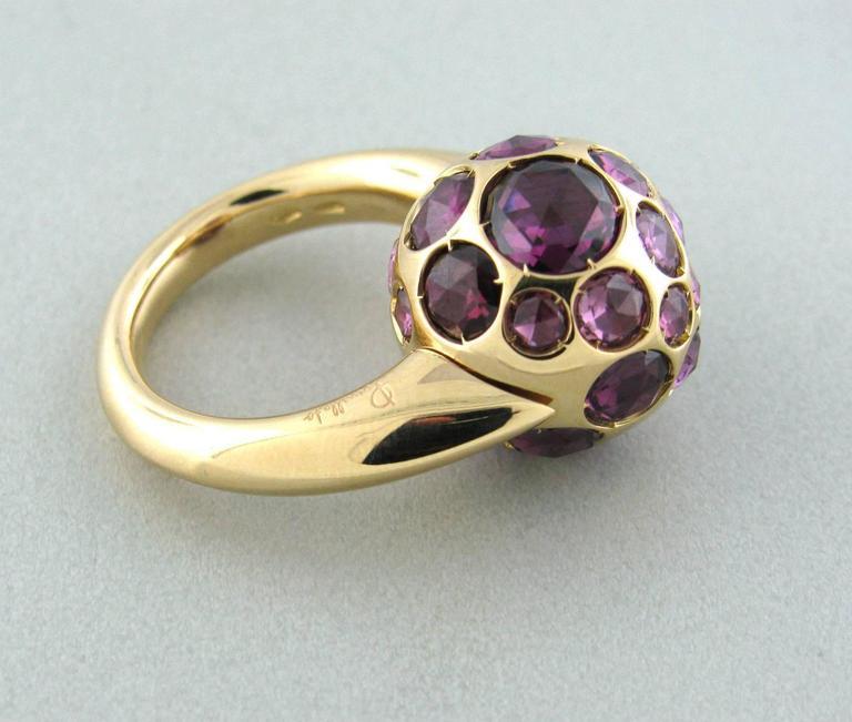 Pomellato Harem Rhodolite Garnet Gold Ring In New Condition In Boca Raton, FL