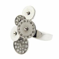 Bulgari Cicladi Gold Diamond Ring Bvlgari