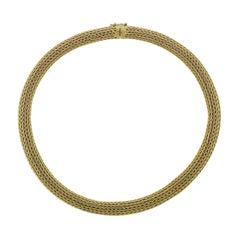 Classic Ilias Lalaounis Greece Gold Necklace