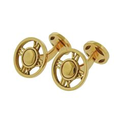 Tiffany & Co. Atlas Gold Cufflinks