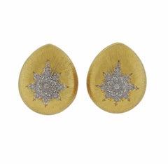 Buccellati Gold Teardrop Earrings