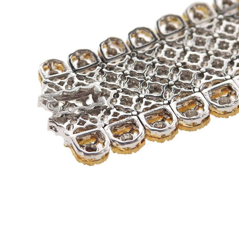 Exquisite Buccellati Diamond Gold Necklace For Sale 2