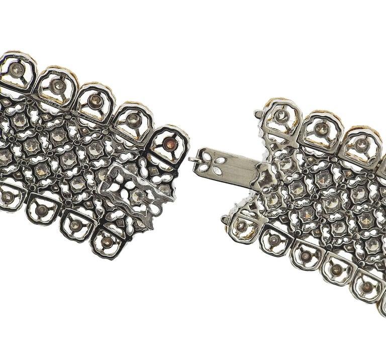 Exquisite Buccellati Diamond Gold Necklace For Sale 1