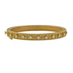 Ilias Lalaounis Hellenistic Diamond Gold Bracelet