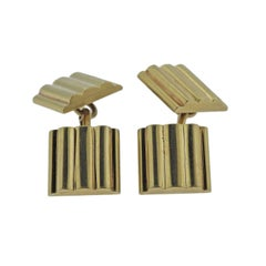 Tiffany & Co. Gold Square Cufflinks