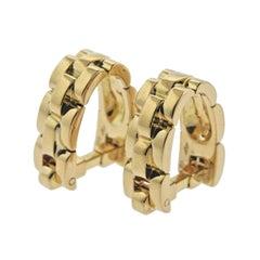 Cartier Panthere Gold Cufflinks