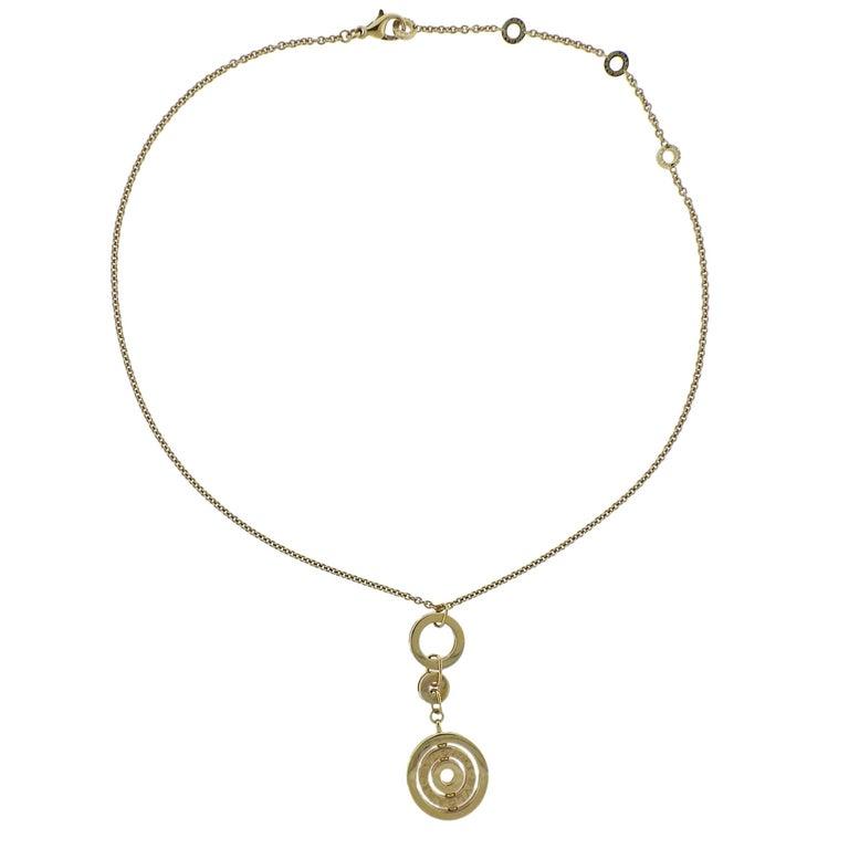 Bulgari Astrale Gold Pendant Necklace