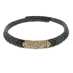 Marina B Onda Diamond Gold Choker Necklace