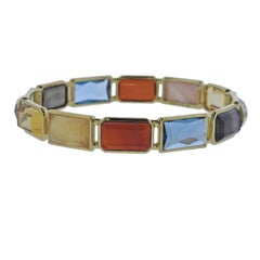 Ippolita Rock Candy Gelato Marrakesh 12-Stone Gold Bracelet
