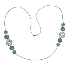 Ippolita Rock Candy Isola Turquoise Mother-of-pearl Necklace